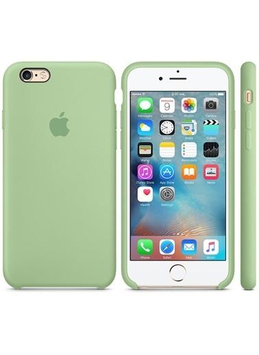 Jacobson iPhone 6/6S Plus Sert Silikon Kılıf Yeşil